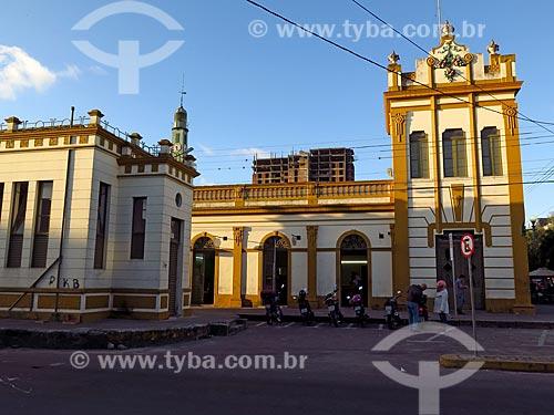 Fachada do Mercado Central de Pelotas (1849)  - Pelotas - Rio Grande do Sul (RS) - Brasil