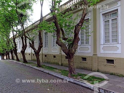 Fachada do prédio da Faculdade de Tecnologia do SENAC (Serviço Nacional de Aprendizagem Comercial)  - Pelotas - Rio Grande do Sul (RS) - Brasil