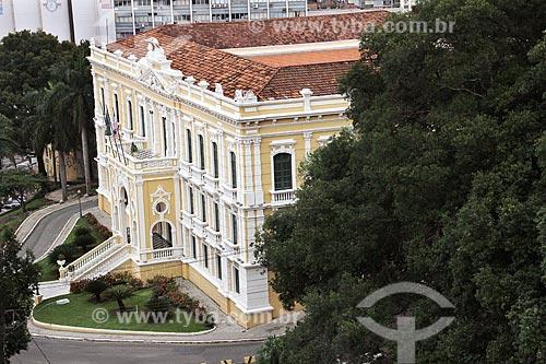 Palácio Anchieta (1760) - sede do Governo do Estado  - Vitória - Espírito Santo (ES) - Brasil