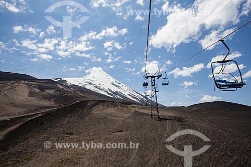 Teleférico do Vulcão Osorno  - Província de Osorno - Chile