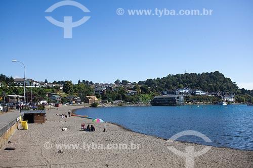 Orla do Lago de Llanquihue  - Puerto Varas - Província de Llanquihue - Chile