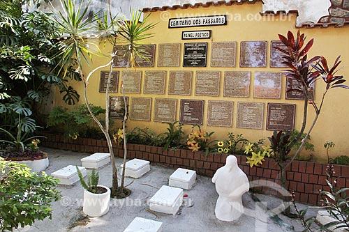 Cemitério dos Pássaros na Ilha de Paquetá  - Rio de Janeiro - Rio de Janeiro (RJ) - Brasil