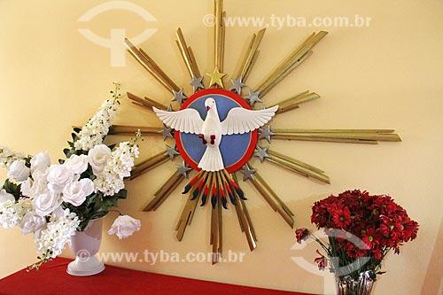 Interior de casa decorada para a Festa do Divino  - Paraty - Rio de Janeiro (RJ) - Brasil