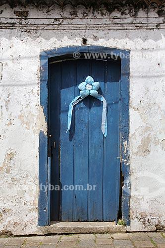 Casa decorada para a Festa de Nossa Senhora da Graça  - São Francisco do Sul - Santa Catarina (SC) - Brasil