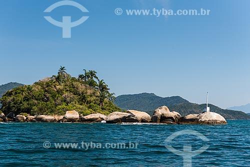 Chegada de flexboat na Vila do Abraão  - Angra dos Reis - Rio de Janeiro (RJ) - Brasil