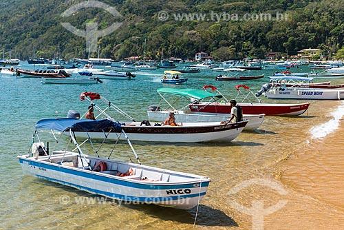 Taxi boats na Vila do Abraão  - Angra dos Reis - Rio de Janeiro (RJ) - Brasil