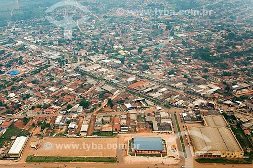 Foto aérea do trecho da Rodovia PA-279 na cidade de Tucumã  - Tucumã - Pará (PA) - Brasil