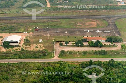 Foto aérea do Aeroporto de Ourilândia do Norte  - Ourilândia do Norte - Pará (PA) - Brasil