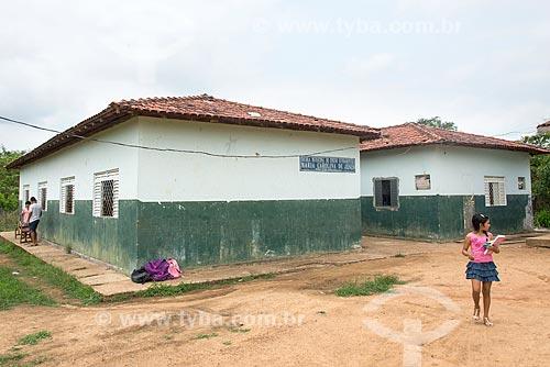 Escola Municipal de Ensino Fundamental Maria Carolina de Jesus no Km 38 da Rodovia PA-279  - Tucumã - Pará (PA) - Brasil