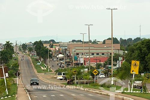 Trecho da Avenida das Nações (PA-279)  - Ourilândia do Norte - Pará (PA) - Brasil