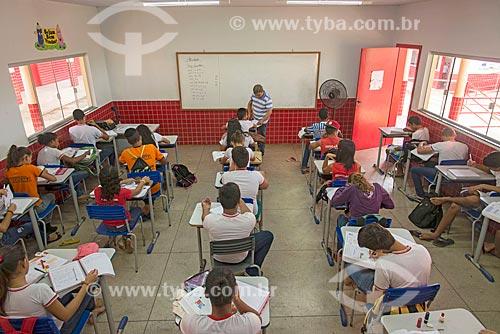 Alunos da Escola Municipal Elcione Barbalho  - Tucumã - Pará (PA) - Brasil