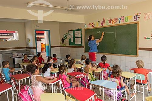 Alunos da Creche Municipal da cidade de Tucumã  - Tucumã - Pará (PA) - Brasil