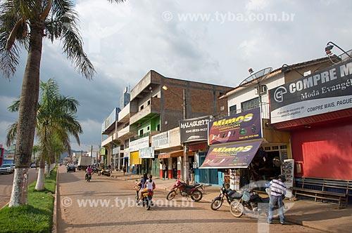 Lojas na Avenida Pará  - Ourilândia do Norte - Pará (PA) - Brasil