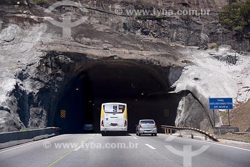 Tráfego no Túnel Geólogo Enzo Totis - Linha Amarela  - Rio de Janeiro - Rio de Janeiro (RJ) - Brasil