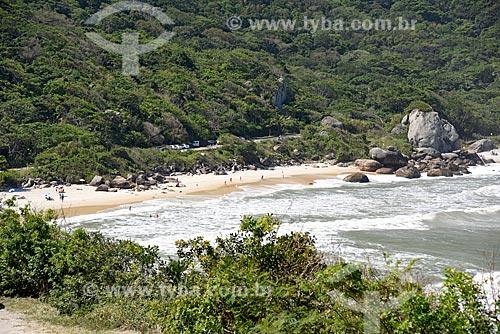 Vista do Parque Natural Municipal da Prainha a partir da Avenida Estado da Guanabara  - Rio de Janeiro - Rio de Janeiro (RJ) - Brasil