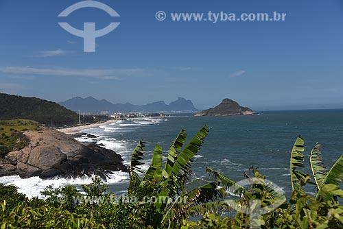 Vista da orla da cidade do Rio de Janeiro a partir da Avenida Estado da Guanabara  - Rio de Janeiro - Rio de Janeiro (RJ) - Brasil