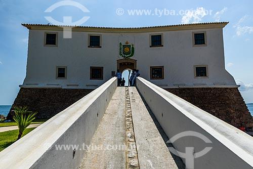 Fachada do Forte de Santa Maria (1696)  - Salvador - Bahia (BA) - Brasil