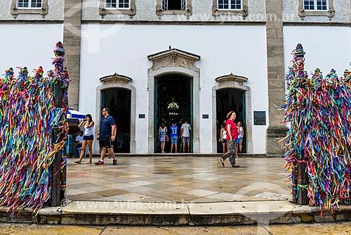 Entrada da Igreja de Nosso Senhor do Bonfim (1754)  - Salvador - Bahia (BA) - Brasil