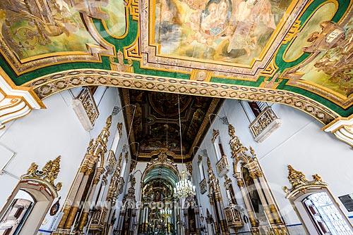 Interior da Igreja de Nosso Senhor do Bonfim (1754)  - Salvador - Bahia (BA) - Brasil
