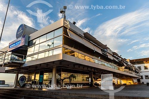 Fachada do Palácio Tomé de Sousa (1986) - sede da Prefeitura da cidade de Salvador  - Salvador - Bahia (BA) - Brasil