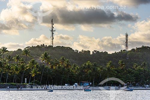 Vista da orla da 3ª Praia  - Cairu - Bahia (BA) - Brasil