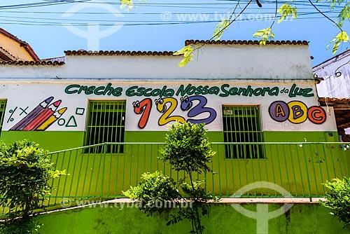 Fachada da Creche Escola Nossa Senhora da Luz  - Cairu - Bahia (BA) - Brasil