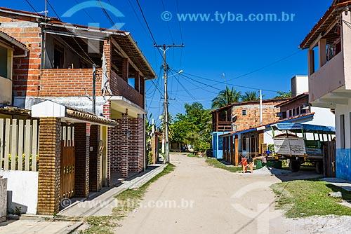 Casas próximo à Praia de Garapuá  - Cairu - Bahia (BA) - Brasil