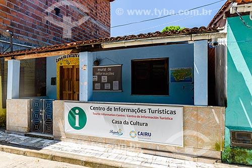 Posto de informação turística e Casa da Cultura na Vila de Velha Boipeba  - Cairu - Bahia (BA) - Brasil
