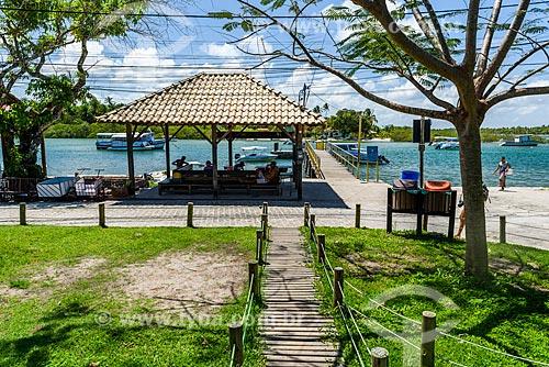 Porto da Vila de Velha Boipeba  - Cairu - Bahia (BA) - Brasil