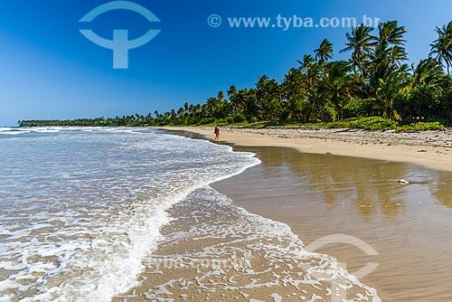 Vista da orla da Praia de Bainema  - Cairu - Bahia (BA) - Brasil