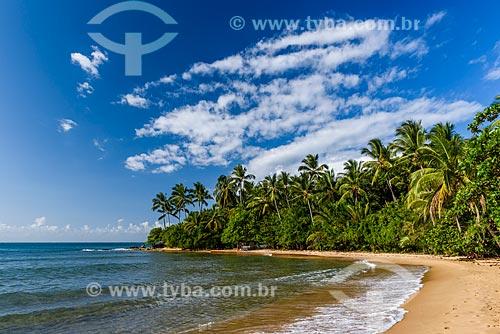 Orla da Praia de Três Coqueiros  - Maraú - Bahia (BA) - Brasil