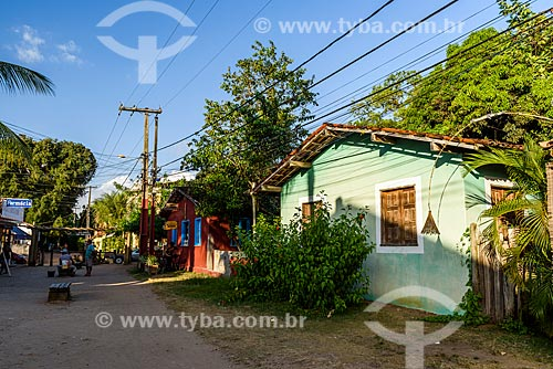 Casas na Vila de Barra Grande  - Maraú - Bahia (BA) - Brasil