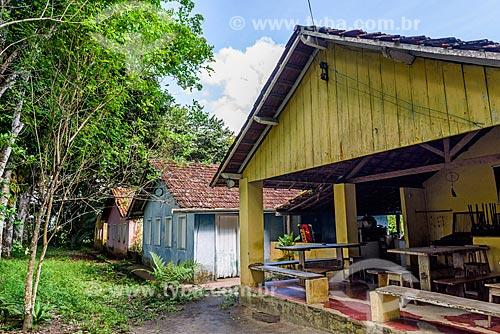 Fachada do Restaurante Ilha Veneza  - Maraú - Bahia (BA) - Brasil