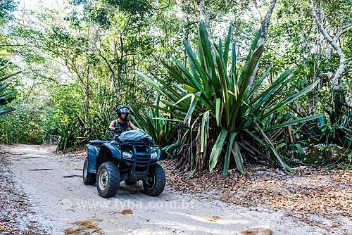 Quadriciclo na Trilha das Bromélias Gigantes  - Maraú - Bahia (BA) - Brasil