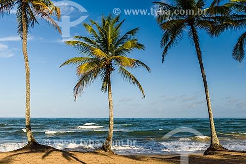 Orla da Praia do Cassange  - Maraú - Bahia (BA) - Brasil