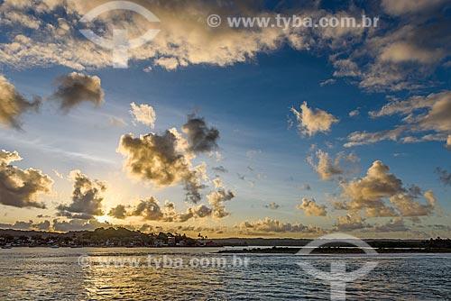 Pôr do sol na Ponta do Xaréu  - Itacaré - Bahia (BA) - Brasil