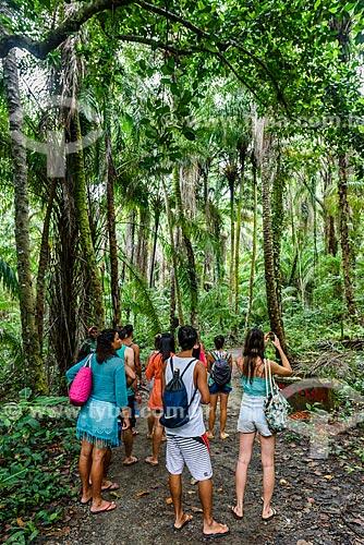 Trilha da Praia da Engenhoca  - Itacaré - Bahia (BA) - Brasil