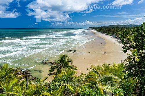 Orla da Praia de Itacarezinho  - Itacaré - Bahia (BA) - Brasil