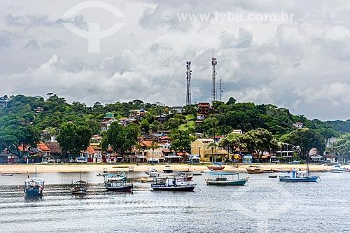 Vista geral da orla da Ponta do Xaréu  - Itacaré - Bahia (BA) - Brasil