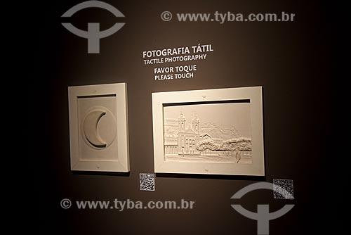 Fotografia Tátil - Exposição Alberto Sampaio - Centro Cultural Correios  - Rio de Janeiro - Rio de Janeiro (RJ) - Brasil