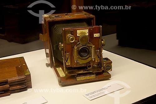 Câmera Fotográfica The Sanderson Tropical (1904) - Exposição Alberto Sampaio - Centro Cultural Correios  - Rio de Janeiro - Rio de Janeiro (RJ) - Brasil