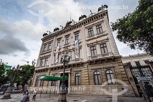 Fachada do Museu da República - antigo Palácio do Catete (1867)  - Rio de Janeiro - Rio de Janeiro (RJ) - Brasil