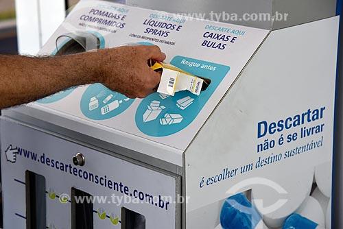 Máquina para coleta seletiva de medicamentos e produtos médicos vencidos  - Rio de Janeiro - Rio de Janeiro (RJ) - Brasil