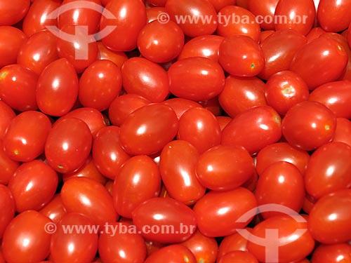 Tomate-uva à venda no Albert Cuyp Markt  - Amsterdam - Holanda do Norte - Holanda