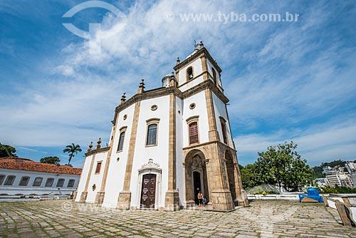 Fachada da Igreja de Nossa Senhora da Glória do Outeiro (1739)  - Rio de Janeiro - Rio de Janeiro (RJ) - Brasil