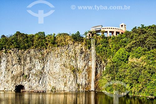 Mirante e cascata do Parque Tanguá  - Curitiba - Paraná (PR) - Brasil
