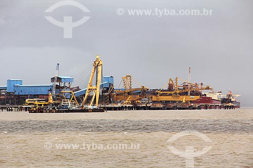 Vista geral do Complexo Portuário de Itaqui  - São Luís - Maranhão (MA) - Brasil