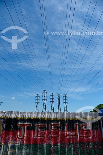 Torres de transmissão no bairro de Madureira  - Rio de Janeiro - Rio de Janeiro (RJ) - Brasil