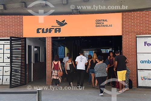 Entrada da Central Única das Favelas (CUFA)  - Rio de Janeiro - Rio de Janeiro (RJ) - Brasil