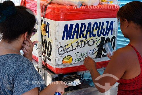 Vendedor ambulante de suco de maracujá  - Rio de Janeiro - Rio de Janeiro (RJ) - Brasil